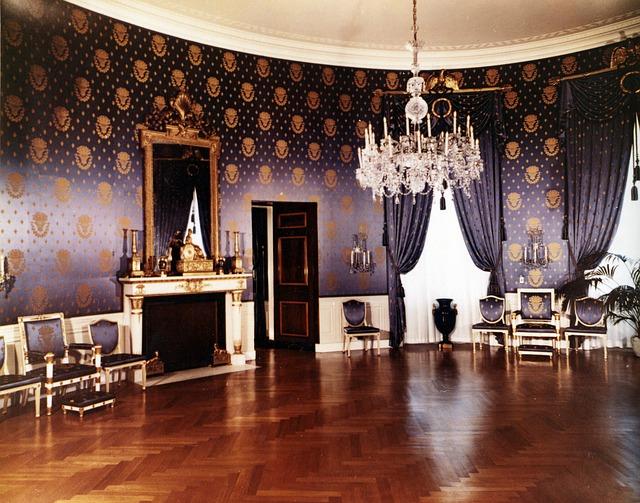 pokoj bílého domu