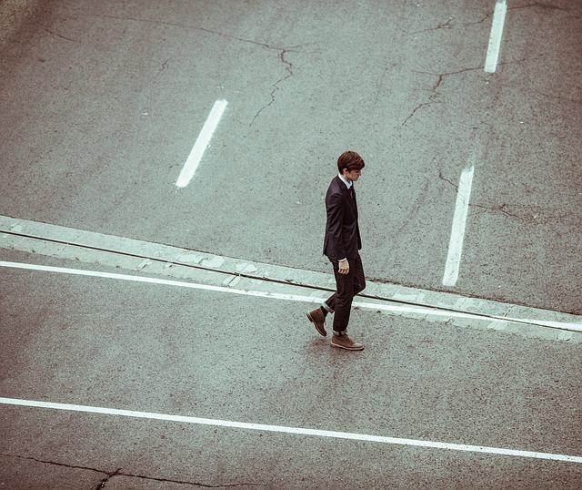 Kráčející podnikatel